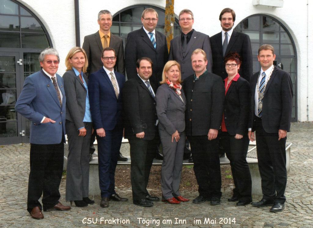 CSU Fraktion 2014