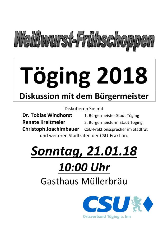 2018-01-21 Töging 2018 Logo-1